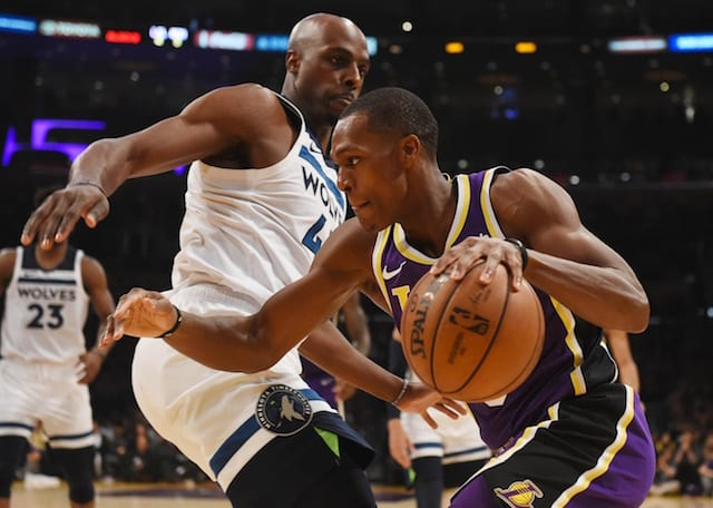 f3d3149f202 Lakers Injury Update  Rajon Rondo Cleared To Resume Basketball Activities