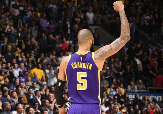 Lakers Shift Away From Small Ball Behind Recent Surge As Tyson Chandler Thrives