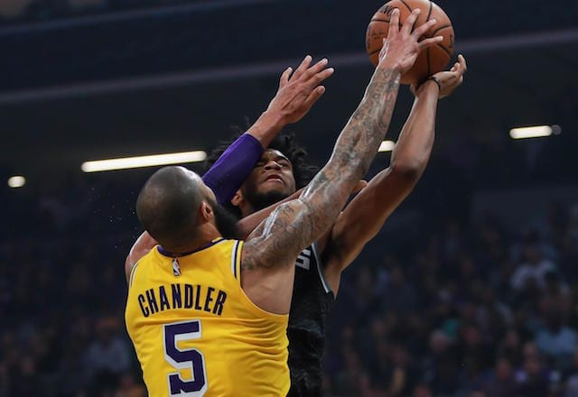 Luke Walton 'Very Happy' With What Tyson Chandler Has Brought To Lakers