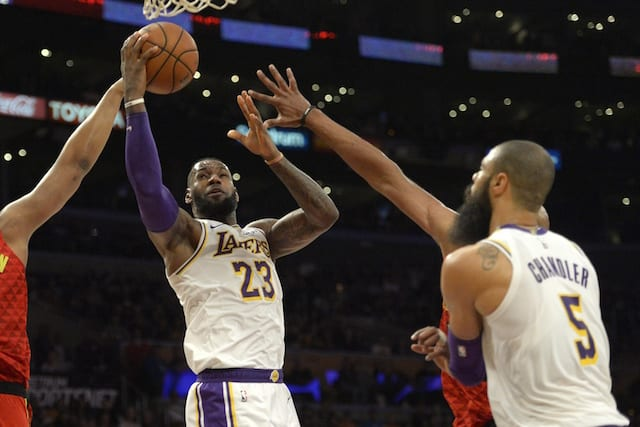 0dc626ac18f7 Lakers News  Tyson Chandler Hopes To Take  Pressure  Off LeBron James. Jake  Roth-USA TODAY Sports