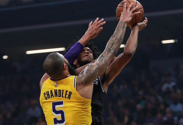 Tyson Chandler says he chose Lakers over going to Warriors