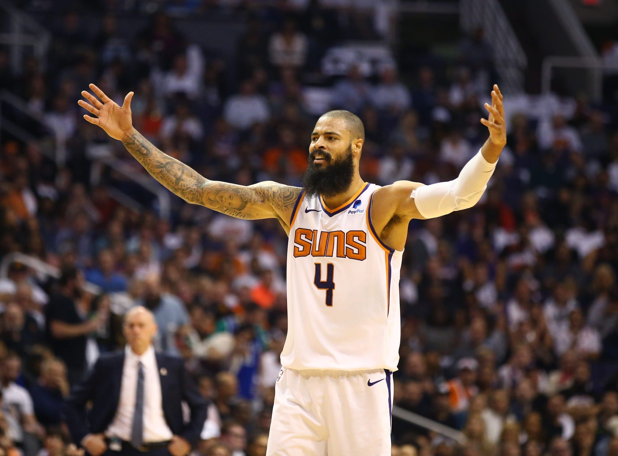 122aa1ff097f NBA Rumors  Tyson Chandler Forfeited  2.1 Million To Secure Buyout From  Suns
