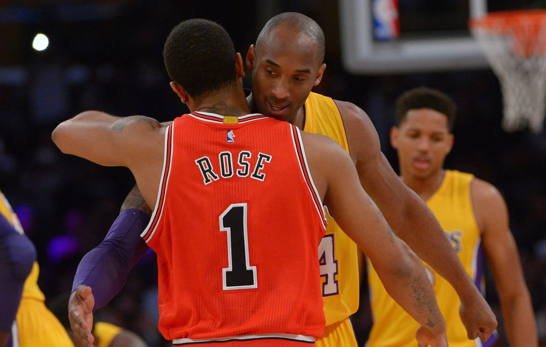 Kobe Bryant, Derrick Rose