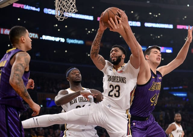 NBA Reports: Davis requests trade from Pelicans