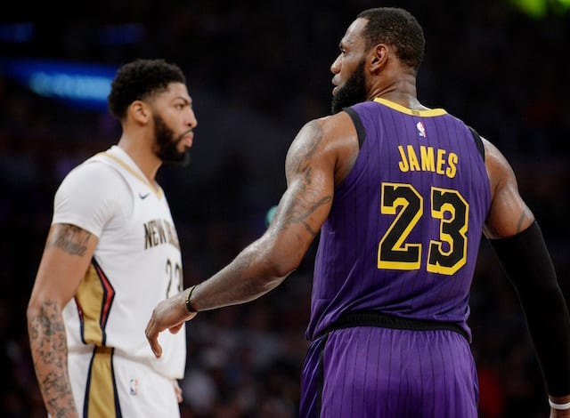 Image result for lebron james anthony davis usa today