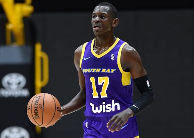 35f9669d6b1 Lakers Recall Rookie Isaac Bonga From South Bay