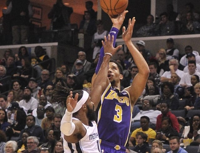 d2f53890fd2 Lakers News  Josh Hart Focused On Preparing For Catch-And-Shoot  Opportunities Against Grizzlies
