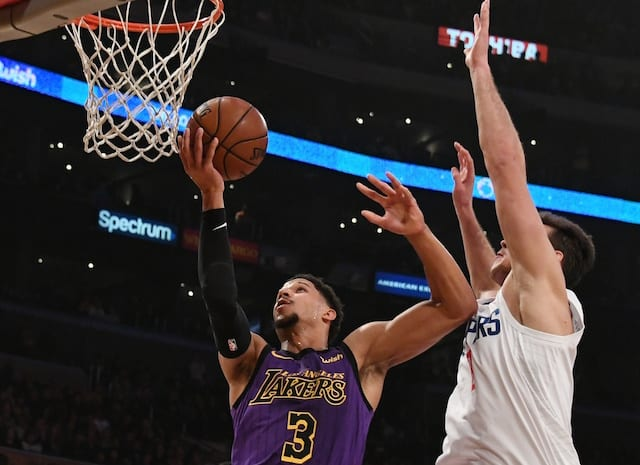Lakers kick off two-game trip with visit to Timberwolves