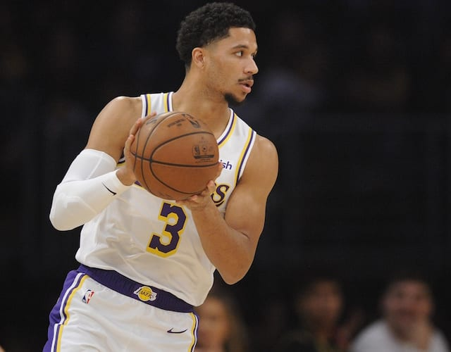 Lakers News  Josh Hart Asked To Come Out During Second Half Vs. Suns ... f1929f4ec
