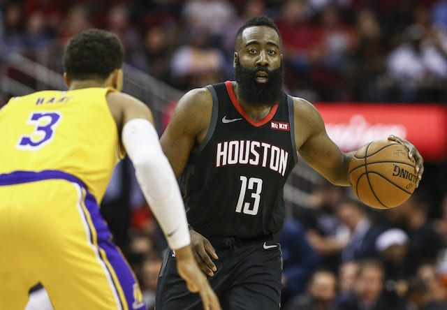 Lakers Can t Overcome Free Throw Woes Or James Harden In Loss To ... b45786617