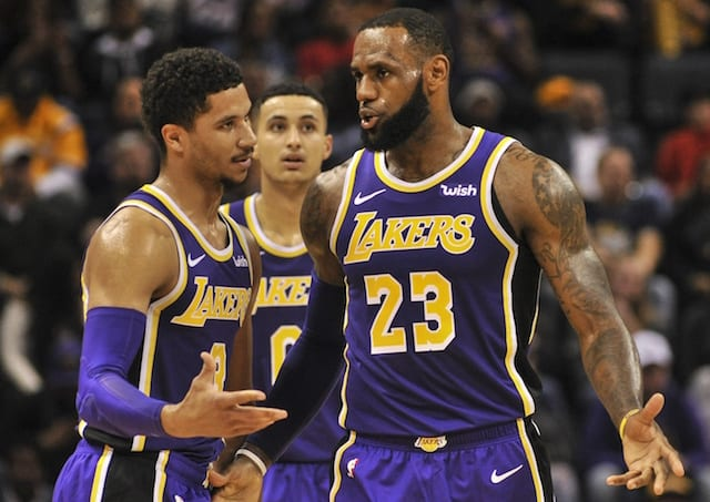 LeBron James talks playoffs after flirting with triple-double in Lakers return