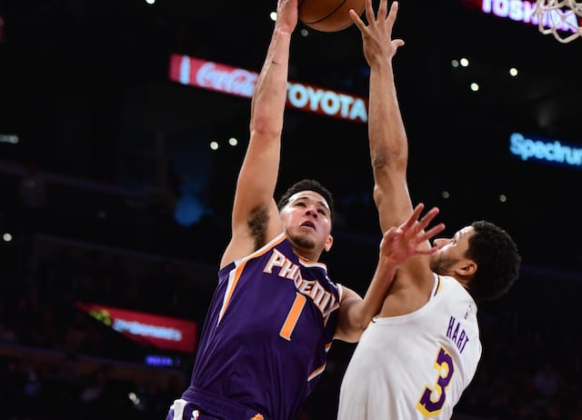 Josh Hart, Lakers, Suns