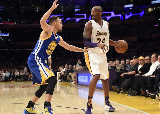 9366be4fdab Kobe Bryant Pokes Fun At Warriors Fans When Predicting Lakers Will ...