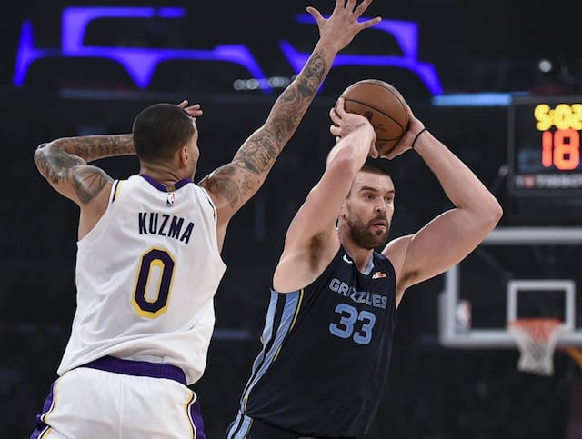 d9d7a7422678 Kyle Kuzma Confident Lakers Can Find Success With Own Version Of ...