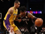 Kyle Kuzma, Lakers, Nets, D'Angelo Russell