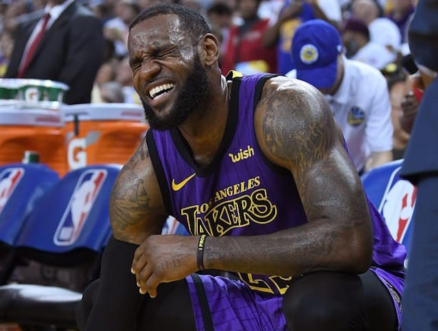 c45c1dc4317 Lakers Injury Update  LeBron James Not Traveling For 2-Game Road Trip