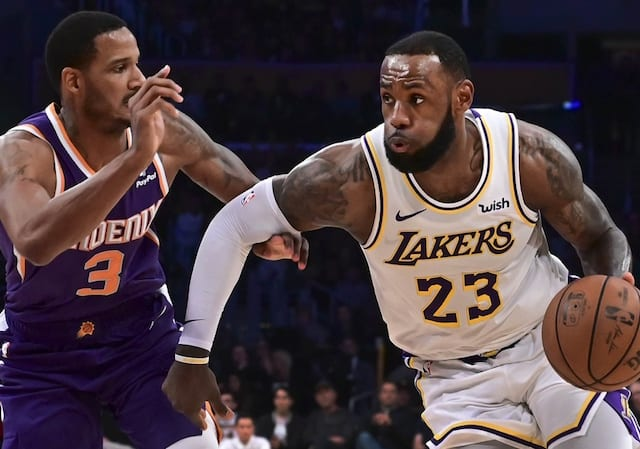 Trevor Ariza, LeBron James