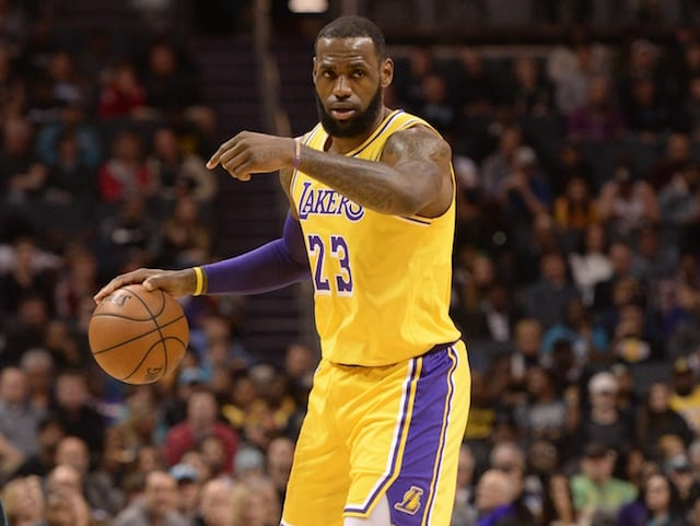 Danny Ainge Questions Lakers' LeBron James Calling Himself 'The GOAT'