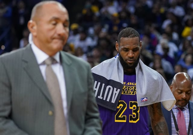 LeBron to miss at least three more National Basketball Association games for Lakers