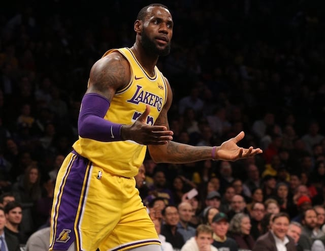 a33fd94db Lakers Rumors  LeBron James Knew Year 1  Might Have To Be Messy ...