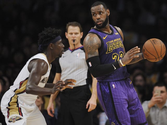 LeBron James expertly shuts down tampering accusations after Anthony Davis comments