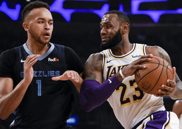 LeBron James says Lakers miss Lonzo Ball 'a lot'