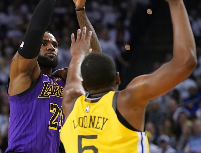 d3c19774cb78 Lakers News  LeBron James Dealing With Lingering Soreness