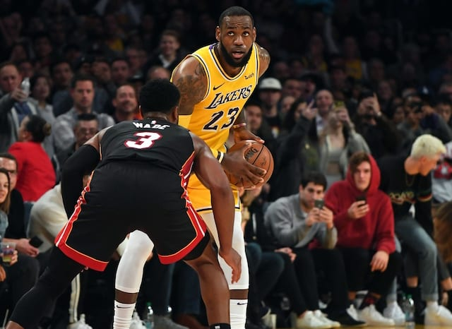 LeBron James, Dwyane Wade, Lakers