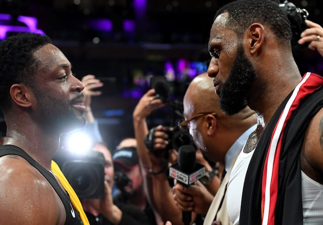 LeBron James Hopes Dwyane Wade Will Help Mentor Lakers Young Core During  Retirement 1324f5c0c