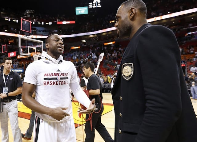 973d5e12570 Lakers News  LeBron James Has  A Lot Of Emotions  Heading Into Final Game  With Dwyane Wade