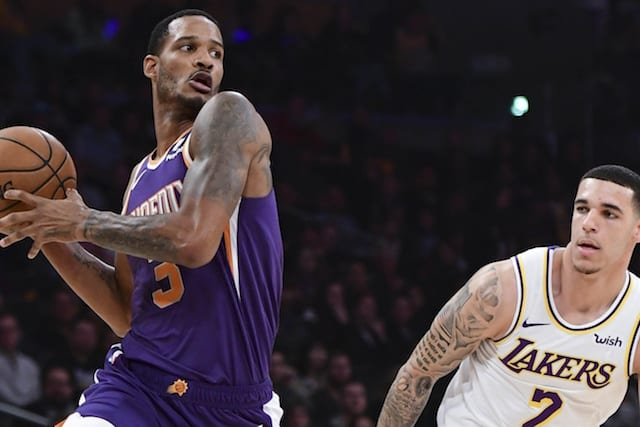07e28e59d5fa NBA Rumors  Phoenix Suns Want Point Guard Or Draft Picks In Multi-Team Trevor  Ariza Trade With Lakers