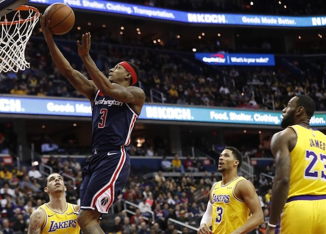 833821d668e3 NBA Trade Rumors  Lakers Could Target Bradley Beal If Unable To Land  Anthony Davis