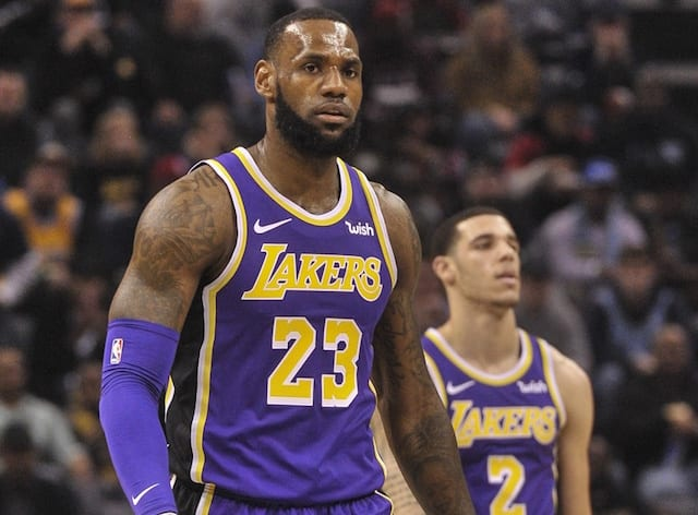522444bf524 Lonzo Ball Believes LeBron James Signing With Lakers Was 'Right Move,'  Wants To Be In 'Space Jam 2'