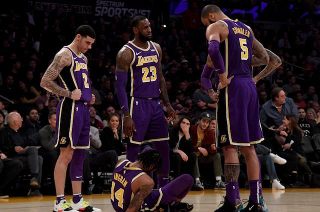6f05818b748 Lakers Injury Update  Brandon Ingram Will Be Re-Evaluated In 1 Week After  MRI Confirms Ankle Sprain