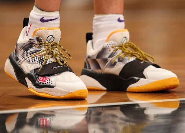 9492ec7b1349 Lonzo Ball Informed Lakers He Would Wear Kobe Bryant s Signature Shoe If  Big Baller Brand Model Was Factor In Ankle Injuries. Brad Penner-USA TODAY  Sports