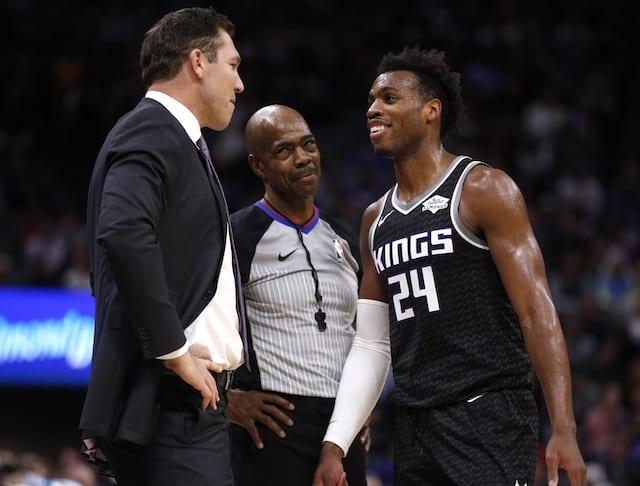 d3f858972 NBA Rumors  Kings View Lakers Head Coach Luke Walton As  Clear ...