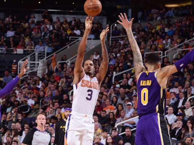 9f4fca271c31 NBA Trade Rumors  Lakers Attempted To Re-Engage With Suns After Failed Trevor  Ariza Trade