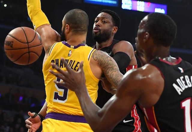 ca2b78cb0be Lakers Come Back Against Heat