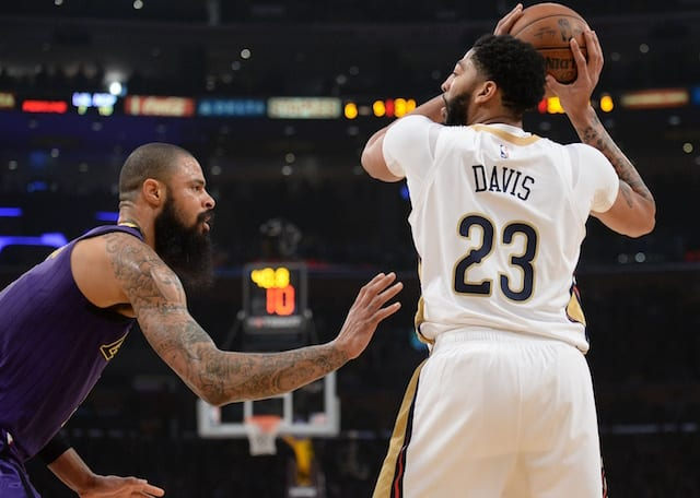c8d6a75b217 NBA Trade Rumors  Anthony Davis Expected To Inform Teams Of Preference To  Join Lakers