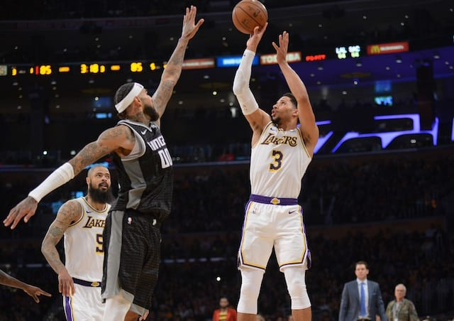 Ingram, Ball lead Lakers to 107-97 win over Mavericks