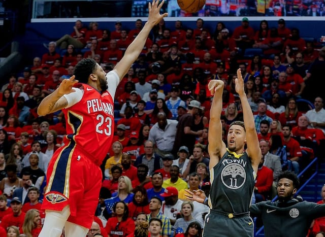5d56a560924 Lakers Rumors  Trade For Anthony Davis Could Lead To Signing Klay Thompson  If Warriors Don t Offer Max Contract