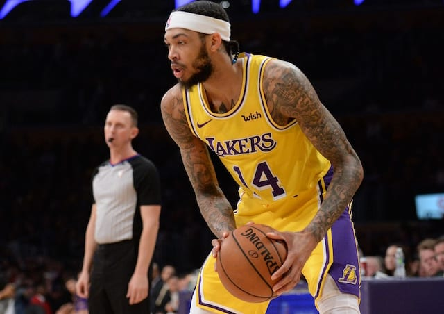 21e530b487a Lakers Rumors  Brandon Ingram Hopeful To Learn More About Blood Clot On  Monday