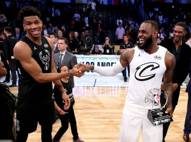 James, Giannis picked as ASG captains