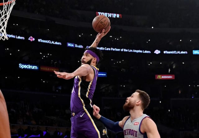 e50909a8e6c4 Lakers Vs. Pistons Preview   TV Info  LeBron James Out On Second ...