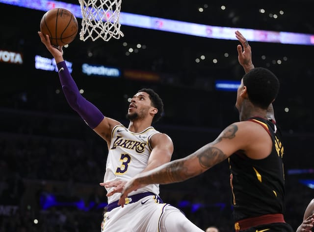 f748bf414cda Josh Hart  Lakers Should Be Motivated By Having Backs  Against The ...