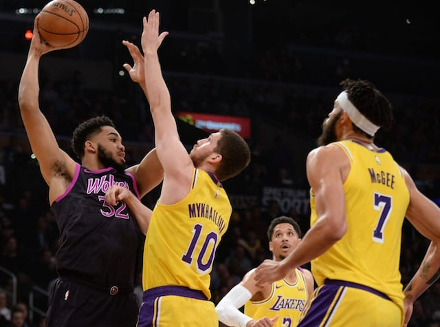 Lakers vs. Timberwolves Recap: The good, the bad and the Ball