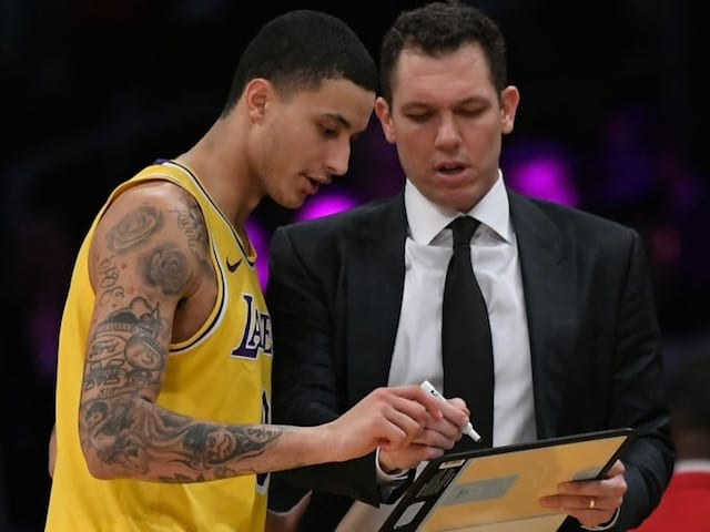 Kyle Kuzma, Luke Walton, Lakers