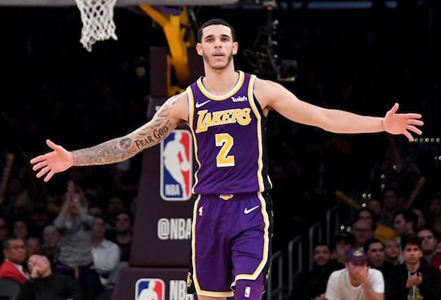 4073e2bba Lakers News  Lonzo Ball Believes He And Brandon Ingram Are  Playing Like  Leaders  With LeBron James   Rajon Rondo Out