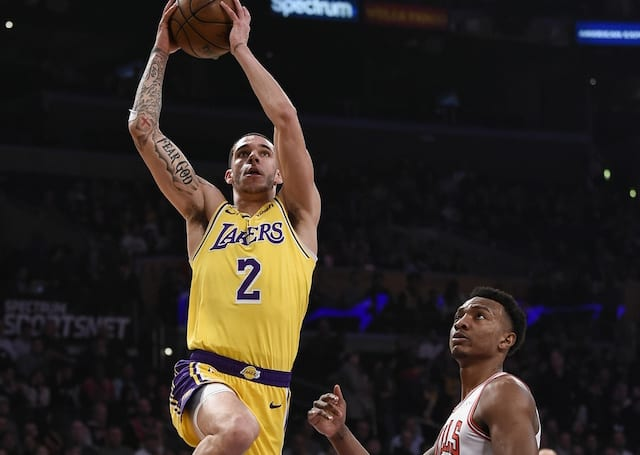Lakers Trade Rumors: Lonzo Ball 'Intrigues' Bulls Heading Into 2019 NBA Draft