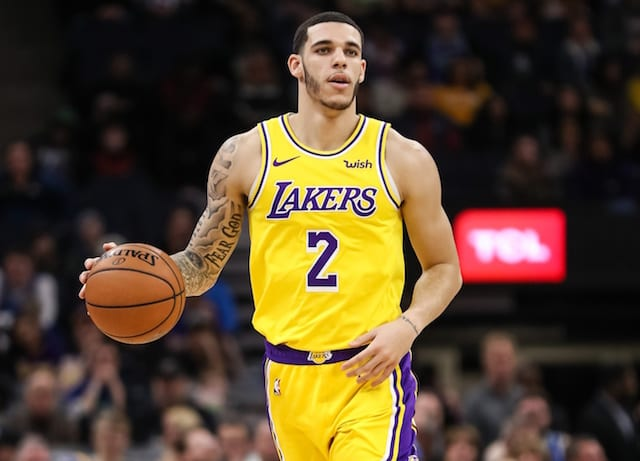 Lakers' Ball and agent Gaines agree to part ways